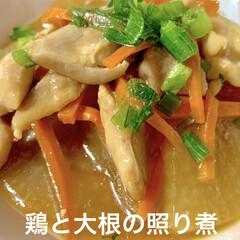 ポトフ/鶏と大根の照り煮/粉チーズかぼちゃ/トースター/レンチン/時短レシピ/... 🍚昨日の晩ご飯🍚  (山本ゆりさんレシピ…(3枚目)
