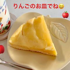 りんごのお皿/簡単/りんごのアップサイドダウンケーキ/スイーツ/おやつ/ケーキ/... 🍎りんごのアップサイドダウンケーキ🍎 (…(2枚目)