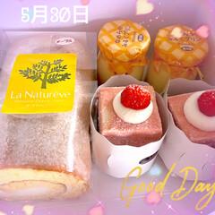 リミ友さんありがとう/ケーキ/誕生日 5月30日、今日は私の誕生日なの〜😊💕 …(1枚目)