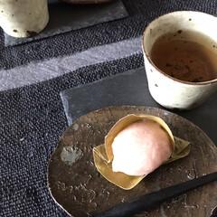 お茶時間/美味しいもの/和カフェ/麩饅頭/住まい/暮らし/... おうちカフェ… いいですね!  我が家は…