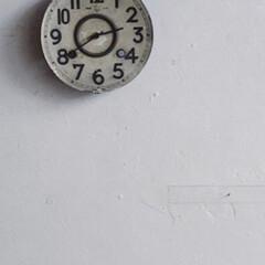 日常のふとしたこと/時計 時を刻む道具 7  欠け欠けの古〜い陶器…