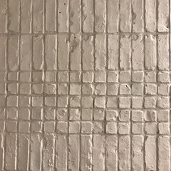 DIY/ホワイト/壁/ブリック/素材/material 凸凹、大小、欠け、、、 ひとつの素材でも…