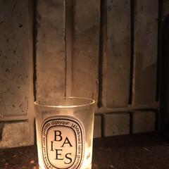 癒し/お気に入り/フォロー大歓迎/冬/おうち/雑貨/... 大好きなキャンドルの灯り  今日はとって…