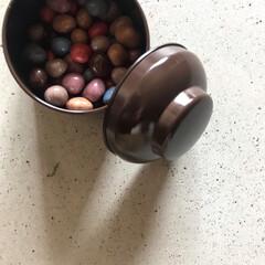 """感謝/石ころ/チョコレート/ホワイトデー/フード/スイーツ/... """"久屋の石っころ""""  何ともおもしろいネ…(1枚目)"""