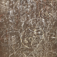 鉄板/日常のふとしたこと/覚書/鍛冶屋/仕事/アート 一見落書きにしか見えないけれどわかる人に…