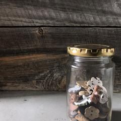 収納/ボタン/春のフォト投稿キャンペーン/雑貨/DIY/暮らし/... ボタン収集を特にしているわけではありませ…
