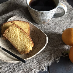 お菓子作り/美味しい/パウンドケーキ/レモン/食事情/暮らし/... レモンパウンドケーキ 無事に焼き上がりま…