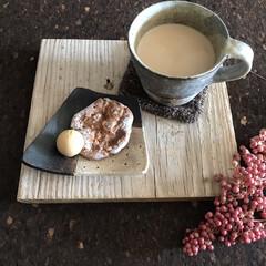 日常のふとしたこと/コーヒー&クッキー/休憩/コーヒータイム/クリスマス2019/リミアの冬暮らし/... 何かと朝からバタバタ状態…。 でも気持ち…