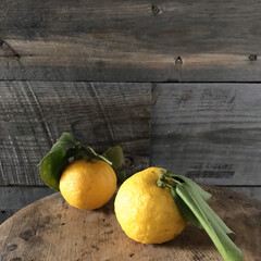 お料理/柑橘系/日常のふとしたこと/柚子/四季/暮らし 頂きものの柚子 浅漬け お菓子 お風呂に…
