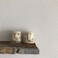 陶芸/ティーキャンドル/キャンドルホルダー/日常のふとしたこと/痛恨のミス/DIY/... 前回投稿のお皿と共に作陶した陶器のキャン…