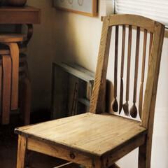 ユーモア/椅子 /キッチンツール/木工/チェアー/インテリア/... 雑誌の中の1ページに見惚れてしまいました…