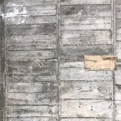 建築/構造/打ち放し/素材/コンクリート/material 築50年と少しのコンクリートのスラブ(天…