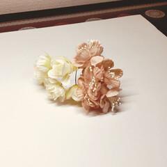 おしゃれインテリア/お花/100均/セリア/雑貨 お部屋に飾るお花💐  少し前セリアで買い…