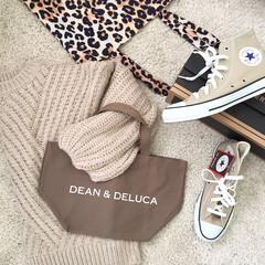 fashion/ファッション/ブラウン/ベージュ/titiva/converse/... ベージュ&ブラウン❤︎DEAN&DELU…