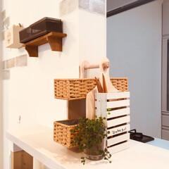diy棚 収納ボックス/キッチン収納DIY/お箸立て/お箸ケース/カトラリー収納DIY/カトラリー収納/... 100均グッズでカトラリーケースをdiy…