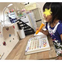 Ironna金具/DIY机/DIY/雑貨 3歳の娘の机をDIYしました^_^  ホ…(2枚目)