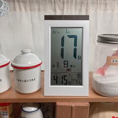 アデッソ(株)/デジタル日めくり電波時計 最近買ったお勧め品てす!  デジタル日め…