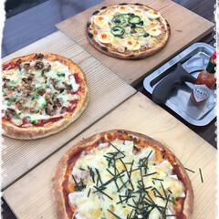 桜の時期にまた行きたい/フレッシュジュース/手作り体験ピザ しばらくぶりですが… ピザ焼き体験へ め…