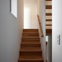 木の家/家づくり/住まい/暮らし/スキップフロア/階段/... 伏見の家|中山建築設計事務所