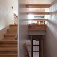 木の家/家づくり/住まい/暮らし/住む/不動産・住宅/... 船岡山の家|中山建築設計事務所