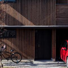 木の家/家づくり/住まい/暮らし/スキップフロア/焼杉板/... 伏見の家|中山建築設計事務所