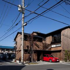 木の家/家づくり/住まい/暮らし/不動産・住宅/スキップフロア/... 伏見の家|中山建築設計事務所