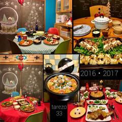 テーブルクロス/マンションインテリア/DIY/セルフリノベーション/黒板アート/セルスリフォーム/... クリスマスに何作るかなーと 2016-2…