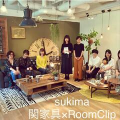 イベント参加/電動リクライニングソファ/製品開発/レザーテックス/sukimaコーディネートイベント/sukima/... sukimaコーディネートイベントにて …
