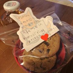 りんごジュース/クッキー/サンタさん/スイーツ サンタさんへのお手紙と、おやつ。 優しい…