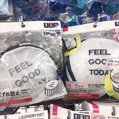 K-select 洗濯ネット 筒型(洗濯ネット)を使ったクチコミ「ダイソーおすすめ商品。 洗濯機用の形崩れ…」