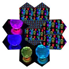 万華鏡/フォト遊び/雑貨/セリア/雑貨だいすき 数ヶ月前に、セリアで購入の7色ライトが綺…(6枚目)