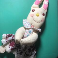 手芸/雑貨/ハンドメイド 娘の彩香は、ウサギが気に入ってました(o…