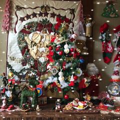 おうち/クリスマス/ハンドメイド わーい、クリスマスだぁ~と言ってはしゃぐ…