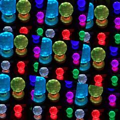 万華鏡/フォト遊び/雑貨/セリア/雑貨だいすき 数ヶ月前に、セリアで購入の7色ライトが綺…(7枚目)