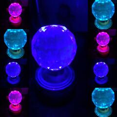 万華鏡/フォト遊び/雑貨/セリア/雑貨だいすき 数ヶ月前に、セリアで購入の7色ライトが綺…(10枚目)