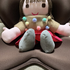 ハンドメイド人形/人形 抱き人形女の子バージョンです。 お客さん…