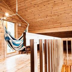 住まい/リノベーション/リフォーム/ログハウス/北欧/パイン材/... 北欧独特の温かみのある北欧パイン材は、寒…