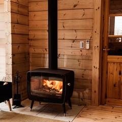住まい/一戸建て/木造建築/木造/木の家/暖炉/...