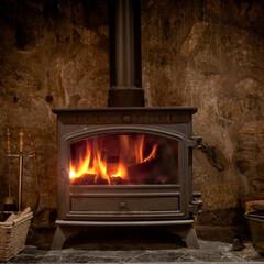 薪ストーブ/ストーブ/暖炉/間伐材/ヒュッゲ/HUCK 実は、灯油やガスよりも薪を燃やした方が二…