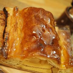 美味しいね/甘酸っぱい/アップルパイ/リミアの冬暮らし/キッチン/暮らし そうだ♡アップルパイを食べようΨ(*´ч…
