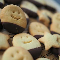 キュート/甘さ控えめ/ニコちゃん/クッキー/チョコレート/スイーツ/...