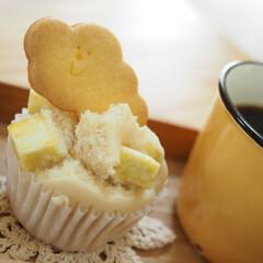おやつな時間/クッキー/お腹満たされるナ/幸/きび砂糖/さつまいも/... さつまいも蒸しパン♡