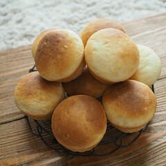 まったり時間/モーニング/パンが好き/まるパン/おうちごはん まるパンを焼いてモーニング☕