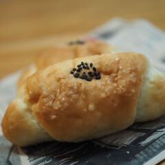 美味しい/大好き/最高に美味しい/パン屋さん/暮らし 塩パン♡塩あんバター♡塩キャラメル