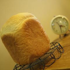 HB/焼きたて/パン大好き/食パン/幸/リミアの冬暮らし/... 蜂蜜ミルク食パン♡焼~けた(*ˊᵕˋ*)