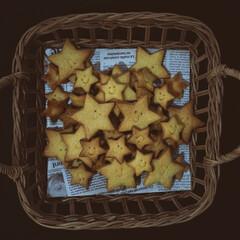 型抜きクッキー/星型/クッキング/シンプルクッキー/可愛い/笑顔/... 星型クッキー♡可愛い(3枚目)