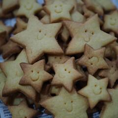 型抜きクッキー/星型/クッキング/シンプルクッキー/可愛い/笑顔/... 星型クッキー♡可愛い(2枚目)
