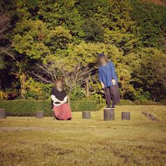 黄金色/焼き立て…/秋/遺跡公園/アップルパイカフェ/グレーシーグレーシー/... 妹と 念願の(*ˊᵕˋ*)🍎 アップルパ…(4枚目)