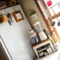 キッチン/時計/無印良品/模様替え/木/ナチュラル/... 断捨離↜ ↝模様替え