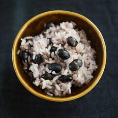 美味しい/身体に優しい/ヘルシー/ご飯/黒豆/暮らし 黒豆♡ご飯⇢⇢⇢ハマり中(๑ºั ³ ˘…
